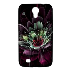 Flower Burst Background  Samsung Galaxy Mega 6 3  I9200 Hardshell Case by amphoto