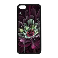 Flower Burst Background  Apple Iphone 5c Seamless Case (black) by amphoto