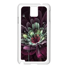 Flower Burst Background  Samsung Galaxy Note 3 N9005 Case (white) by amphoto