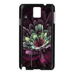Flower Burst Background  Samsung Galaxy Note 3 N9005 Case (black) by amphoto