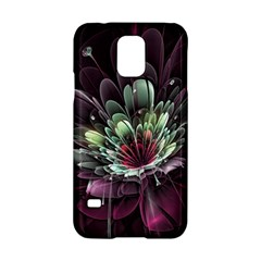Flower Burst Background  Samsung Galaxy S5 Hardshell Case  by amphoto