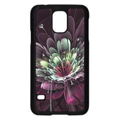 Flower Burst Background  Samsung Galaxy S5 Case (black) by amphoto