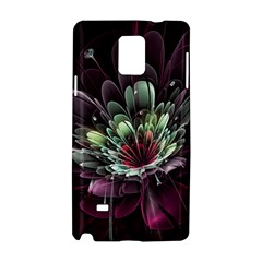 Flower Burst Background  Samsung Galaxy Note 4 Hardshell Case by amphoto