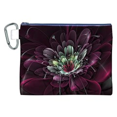 Flower Burst Background  Canvas Cosmetic Bag (xxl) by amphoto