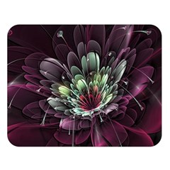 Flower Burst Background  Double Sided Flano Blanket (large)  by amphoto