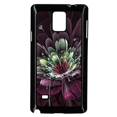 Flower Burst Background  Samsung Galaxy Note 4 Case (black) by amphoto