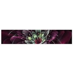 Flower Burst Background  Flano Scarf (Small)