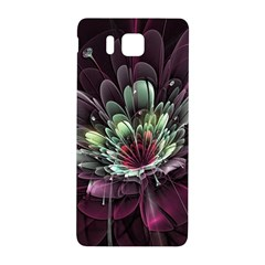 Flower Burst Background  Samsung Galaxy Alpha Hardshell Back Case by amphoto
