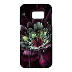 Flower Burst Background  Samsung Galaxy S7 Hardshell Case  by amphoto