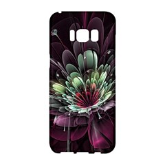 Flower Burst Background  Samsung Galaxy S8 Hardshell Case  by amphoto