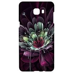 Flower Burst Background  Samsung C9 Pro Hardshell Case