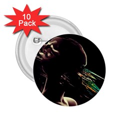 Face Shadow Profile 2 25  Buttons (10 Pack)  by amphoto