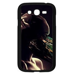 Face Shadow Profile Samsung Galaxy Grand Duos I9082 Case (black) by amphoto