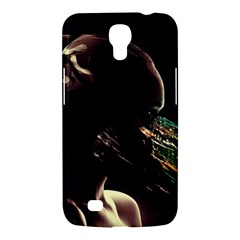 Face Shadow Profile Samsung Galaxy Mega 6 3  I9200 Hardshell Case by amphoto
