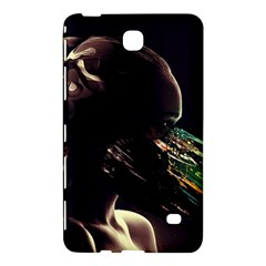 Face Shadow Profile Samsung Galaxy Tab 4 (8 ) Hardshell Case  by amphoto