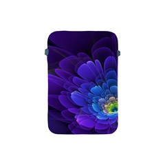 Purple Flower Fractal  Apple Ipad Mini Protective Soft Cases by amphoto