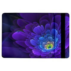 Purple Flower Fractal  Ipad Air 2 Flip by amphoto