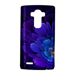 Purple Flower Fractal  Lg G4 Hardshell Case by amphoto