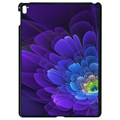 Purple Flower Fractal  Apple Ipad Pro 9 7   Black Seamless Case by amphoto