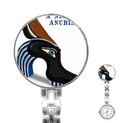 Anubis Sf App Stainless Steel Nurses Watch by AnarKissed