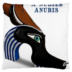 Anubis Sf App Large Flano Cushion Case (two Sides) by AnarKissed