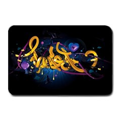 Sign Paint Bright  Plate Mats by amphoto