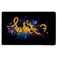 Sign Paint Bright  Apple Ipad 3/4 Flip Case by amphoto