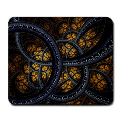 Circles Background Spots  Large Mousepads by amphoto