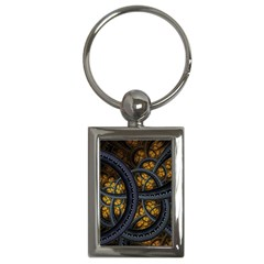 Circles Background Spots  Key Chains (rectangle)  by amphoto