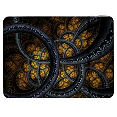Circles Background Spots  Samsung Galaxy Tab 7  P1000 Flip Case by amphoto