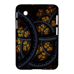 Circles Background Spots  Samsung Galaxy Tab 2 (7 ) P3100 Hardshell Case  by amphoto