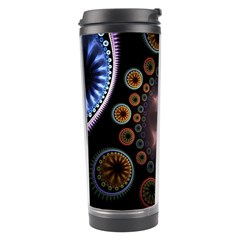 Circles Colorful Patterns  Travel Tumbler by amphoto