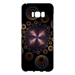 Circles Colorful Patterns  Samsung Galaxy S8 Plus Hardshell Case  by amphoto