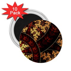 Patterns Line Pattern  2 25  Magnets (10 Pack)  by amphoto