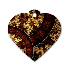 Patterns Line Pattern  Dog Tag Heart (two Sides) by amphoto