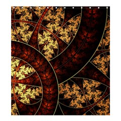 Patterns Line Pattern  Shower Curtain 66  X 72  (large)  by amphoto