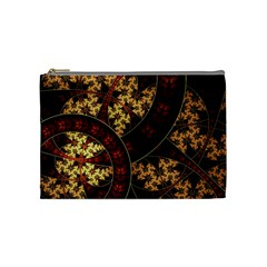 Patterns Line Pattern  Cosmetic Bag (medium)  by amphoto