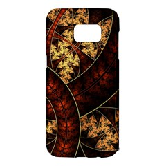 Patterns Line Pattern  Samsung Galaxy S7 Edge Hardshell Case by amphoto