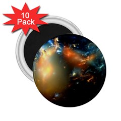 Explosion Sky Spots  2 25  Magnets (10 Pack)  by amphoto