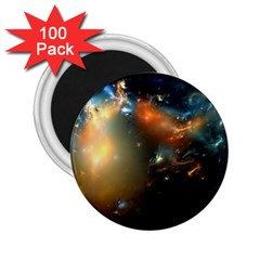 Explosion Sky Spots  2 25  Magnets (100 Pack)  by amphoto