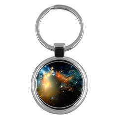 Explosion Sky Spots  Key Chains (round)  by amphoto