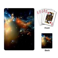 Explosion Sky Spots  Playing Card by amphoto