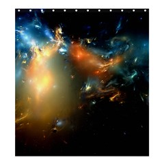 Explosion Sky Spots  Shower Curtain 66  X 72  (large)  by amphoto