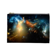 Explosion Sky Spots  Cosmetic Bag (large)  by amphoto