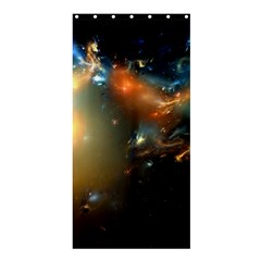Explosion Sky Spots  Shower Curtain 36  X 72  (stall)  by amphoto