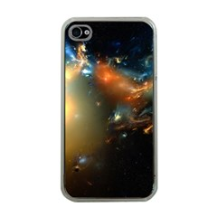 Explosion Sky Spots  Apple Iphone 4 Case (clear) by amphoto