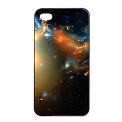 Explosion Sky Spots  Apple Iphone 4/4s Seamless Case (black) by amphoto