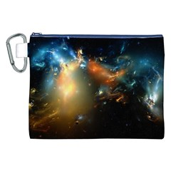 Explosion Sky Spots  Canvas Cosmetic Bag (xxl) by amphoto
