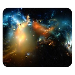 Explosion Sky Spots  Double Sided Flano Blanket (small)  by amphoto