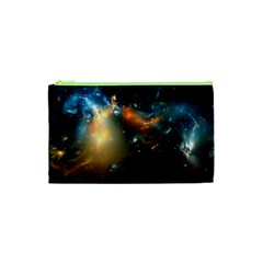 Explosion Sky Spots  Cosmetic Bag (xs) by amphoto